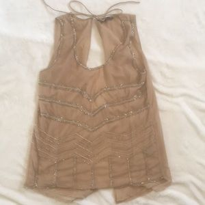 Sultry Tie Back Tank Top